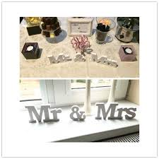 mr mrs wedding table decorations wedding reception sign solid wooden letters mr mrs table