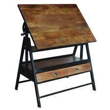 Wood Drafting Table Iron Wooden Drafting Table Yfur 14 Shc35 Elite Fixtures