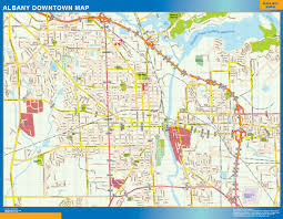 World Wall Map by World Wall Maps Store Albany Downtown Map More Than 10 000 Maps