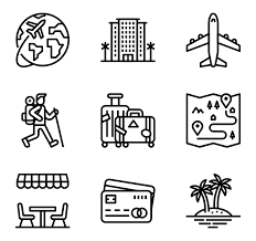 Travel Icons images Free icons designed by monkik flaticon png