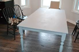 chalk paint farmhouse table painting a table a shab chic farmhouse table with diy chalk paint