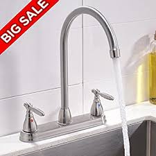 cer kitchen faucet 2 handle joss side sprayer kitchen faucet with ceramic disc