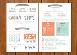 Cute Wedding Programs Wedding Program Infographic Wedding Program Fun Wedding Programs