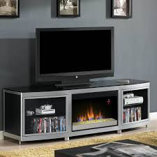 classicflame gotham 72 inch electric fireplace media console with