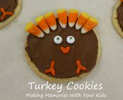 another turkey cookie for thanksgiving memories with your