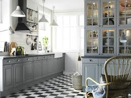 deco cuisine retro cuisines deco cuisine retro bois gris grise de design clair