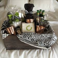 engagement gift basket moscow mule gift basket mugs are by sertado copper they make