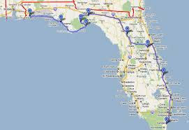 Vero Beach Florida Map by The Route Americas 2011 Expedition