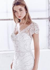 deco wedding dress 30 beautiful wedding dresses with cap sleeves weddingomania