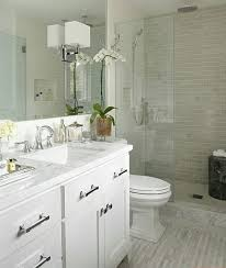 Https Photos Zillowstatic Com P E Isyfexqzr774ma by Small Bathroom Design Ideas White Vanity Walk In Shower Glass