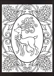 christmas cheer stained glass coloring book 016753 details
