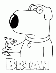 free printable family guy coloring pages h u0026 m coloring pages