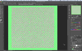 print design photoshop replace color with specific color
