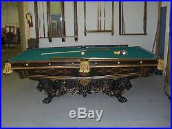 brunswick monarch pool table billiards tables ebony