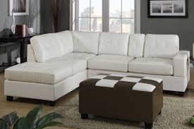 Cream Colored Sectional Sofa by Dante Cream Bonded Leather Sectional Sofa Steal A Sofa Furniture