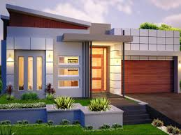 homely design single story home designs modern style with one