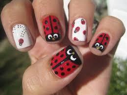 ladybug nails design images nail art designs