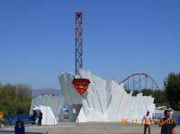 Six Flags Superman Ride Superman Escape From Krypton Six Flags Magic Mountain
