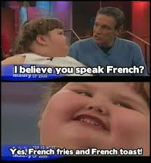 French Meme - fluent in french fat kid dancing know your meme