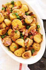 cheesy roasted potatoes with bacon rasa malaysia
