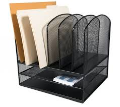 Desk Folder Organizer Adiroffice Mesh Desk Organizer Desktop Paper File