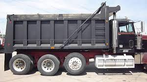 used kenworth w900 dump trucks sale freightliner tri axle dump truck youtube