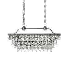 arhaus chandelier anabella rectangle chandelier in antique gold arhaus furniture