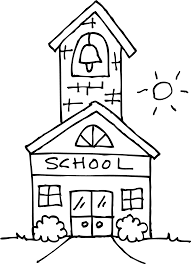 house coloring pages for kids and for adults coloring home