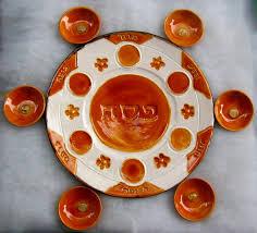 pesach plate unique passover plate handmade ceramic seder plate konforty