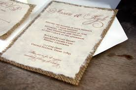 burlap wedding invitations wedding invitations burlap unique diy wedding invitations burlap