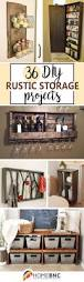 36 best diy rustic storage projects ideas and designs for 2017 36 chic diy rustic organizing and storage projects to stash your stuff