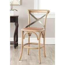 ballard designs constance bentwood stools by ballard designs eleanor 24 4 in weathered oak bar stool