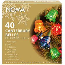 noma canterbury belles 40 coloured bells traditional vintage