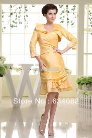 short yellow mother of the bride dresses wedding dress shops