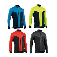 orange cycling jacket northwave reload selective protection waterproof road bike cycling