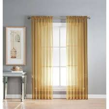 Gold Curtains U0026 Drapes Window Treatments The Home Depot