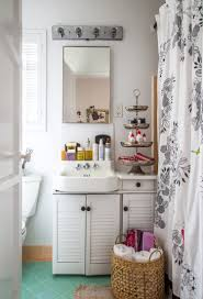 10 styling ideas for small rental bathrooms apartment therapy