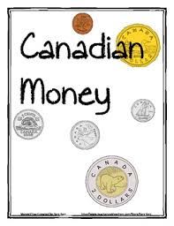 this is a set of canadian printable coins to use in math for