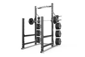 Squat Rack And Bench Press Combo Magnum Series High Performance Weight Training Matrix Fitness