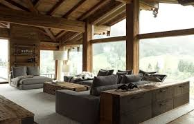 chalet designs 35 chalet living room designs digsdigs