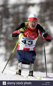 robert wator of poland competes in the mens cross country skiing