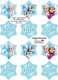 frozen cupcake toppers frozen party decorations free printable