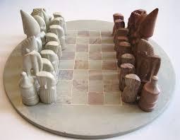 soapstone chess sets from kenya