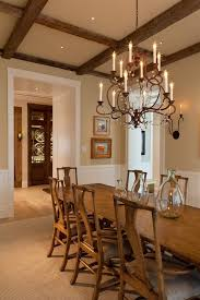 Dining Room Candle Chandelier Pillar Candle Chandelier Kitchen Traditional With Drum Pendant