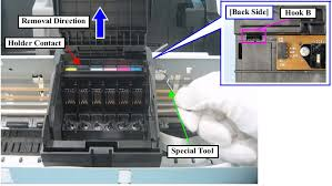 epson l replacement instructions how to remove print head epson l800 epson l801 color inkjet