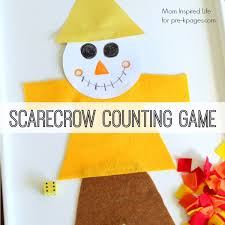 scarecrow counting kindergarten count and gaming