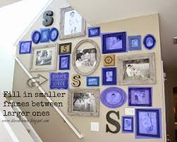 Up The Stairs Wall Decor The Most Efficient Way To Create A Gallery Wall Bless U0027er House