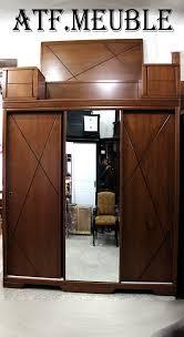 chambre à coucher chêtre chambre 3p coulissante en hetre ab27 algerie meuble atf meuble