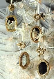gilt mirror ornaments set of 4