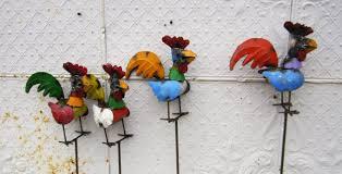chicken lawn ornaments